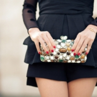 7 Luxe Embellished Clutches ...