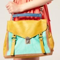 7 Colour Block Bags ...