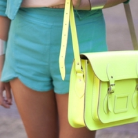 9 Chic Colored Shoulder Bags ...
