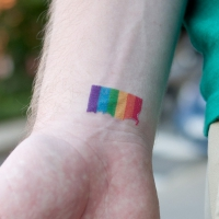 Show Your Pride with One of These Amazing Rainbow-hued Tattoos ...