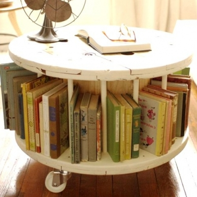35 Fun, Funky and Insanely Clever Ways to Display Books ...