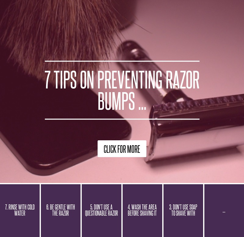 how to prevent and get rid of razor bumps
