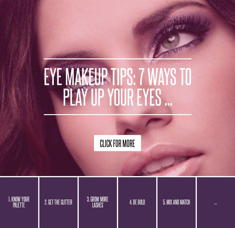 how to play up your eyes
