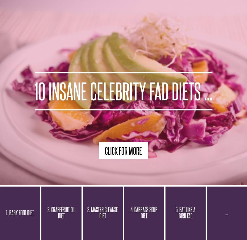 Celebrity fad diets 2019