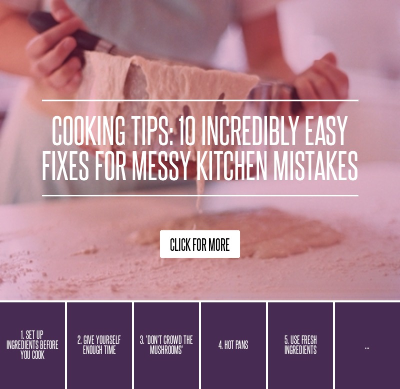 Messy Kitchen Before And After: Cooking Tips: 10 Incredibly Easy Fixes For Messy Kitchen