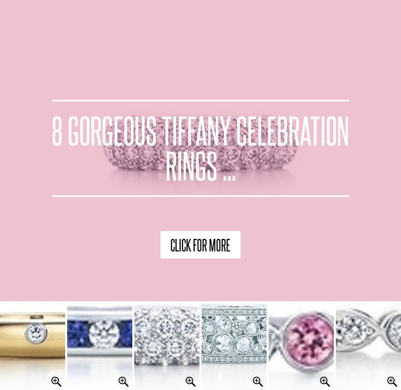 8 Gorgeous Tiffany Celebration Rings Jewelry