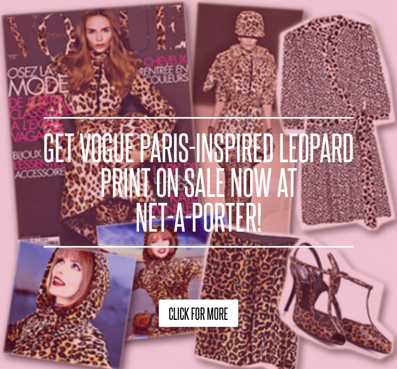 Get Vogue Paris-inspired Leopard Print on Sale Now at Net ...