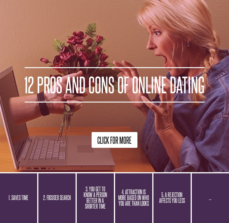 Disadvantages of online dating