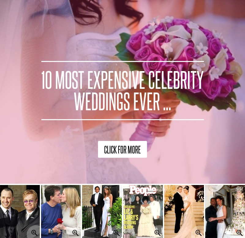 Best celebrity weddings ever