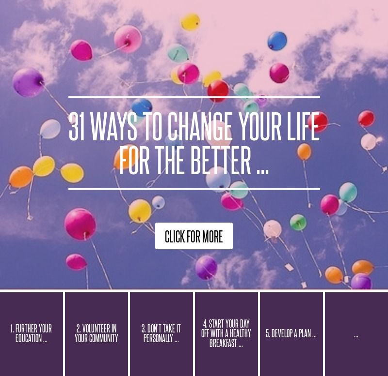Get Healthy To Prolong Your Career And Life: 31 Ways To Change Your Life For The Better ... Lifestyle