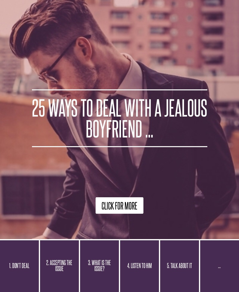 Jealous Ex Husband How To Deal With