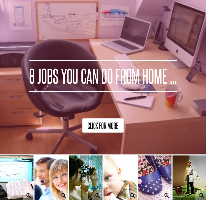 JOBS I CAN DO FROM HOME