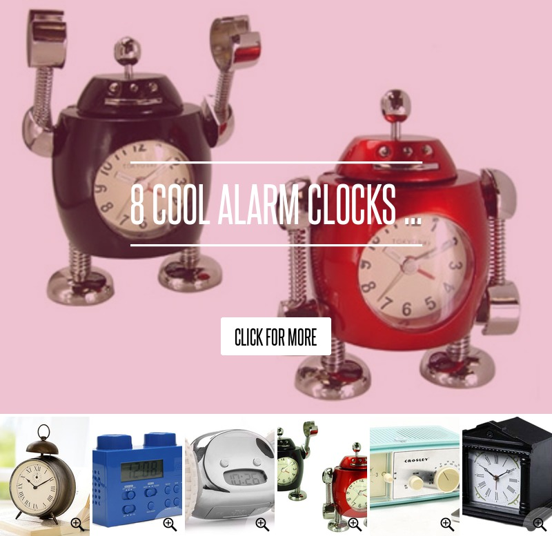 Bonox Clock - 8 Cool Alarm Clocks ... Lifestyle