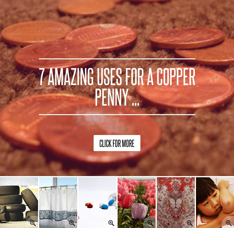 7 amazing uses for a copper penny lifestyle - Incredible uses for copper pennies ...