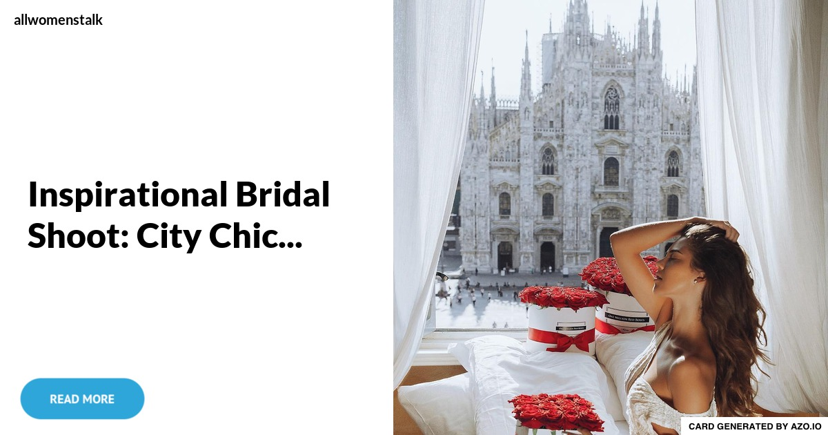 Metropolitan wedding