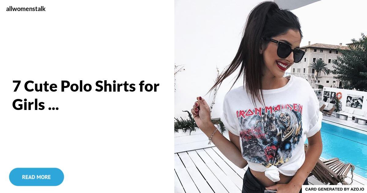 Carter s colorful polo dress 7 cute polo shirts for for Cute polo shirts for women