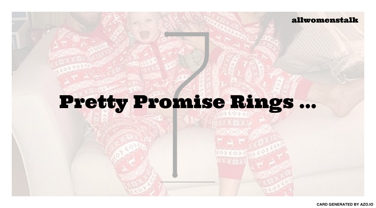 7 pretty promise rings jewelry