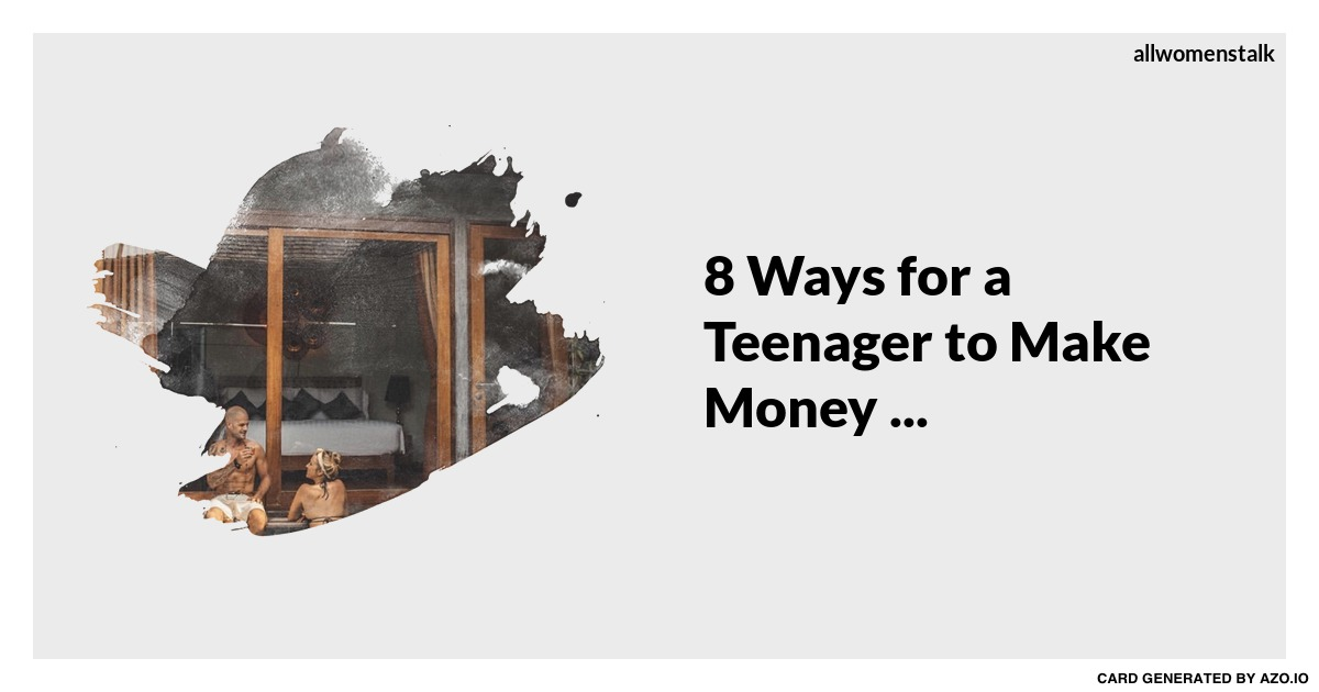 Arts and crafts 8 ways for a teenager to make money for Arts and crafts that make money