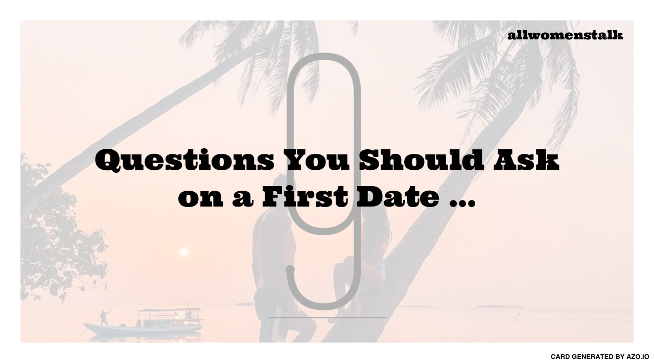 What to ask on a first date in Perth