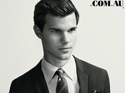 Taylor Lautner Looks Refined for GQ Australia...