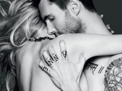 Adame Levine and Anne V for Vogue Russia: Hot or a bit much?