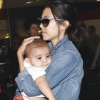 Kourtney Gets Protective of Baby Mason...