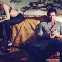 Kellan Lutz Strips for Abbot+Main by Dylan George...