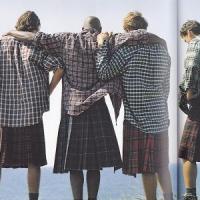 8 Sexiest Celebrity Men in Skirts ...