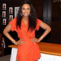 10 Celebrities in Little Orange Dresses – Who Wore It Best? ...
