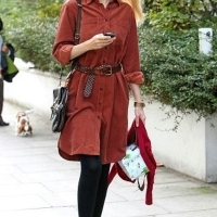 7 Photos of Elle and Claudia in Red ...