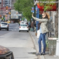 8 Photos of Whitney Hails a Cab ...