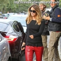 3 Photos of Elle's Bright Red Pants ...