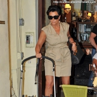 12 Photos of Kardashian Ladies Film at Cipriani ...