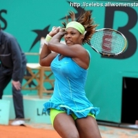 3 Photos of Serena at the French Open ...