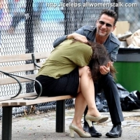 9 Photos of Gahan Has a Laugh ...