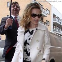 6 Photos of Kylie's White Coat ...