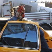 7 Photos of Ke$ha's Tiger Mask ...