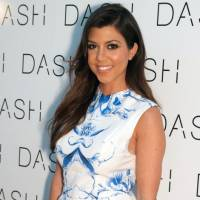 Pregnant Kourtney Kardashian Bares It All for Dujour ...