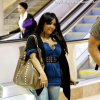 5 Photos of Snooki's Elated Arrival ...