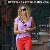 6 Photos of Sarah Jessica Parker in Pink and Red ...