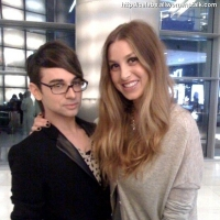 2 Photos of Whitney Port and Christian Siriano ...
