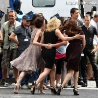 19 Photos of Kate, Ash and Lin on Set ...