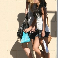 6 Photos of Vanessa in Denim Shorts ...