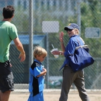 12 Photos of Reese and Her Boys at Soccer Game ...