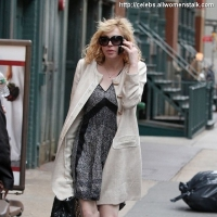 4 Photos of Courtney Love in SoHo ...