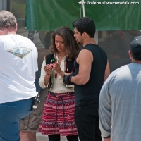 3 Photos of Tom, Wilmer and Gugu on Set ...