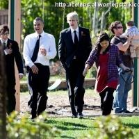 12 Photos of Glee on Set in Northridge ...