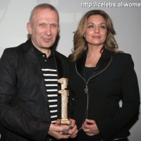 2 Photos of Gaultier's Award ...