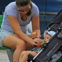 5 Photos of Benjamin Walks with the Nanny ...