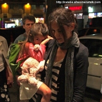 7 Photos of Katie and Suri Dine out ...